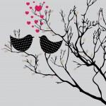 Valentine's background. vector illustration — Stock Vector