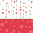 Royalty-Free Stock Imagen vectorial: Valentine\'s  heart. vector illustration