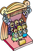 Choir — Stock Vector