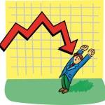 Bad finance — Stock Vector