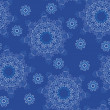 Seamless snowflake pattern — Stock Vector #4375477