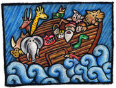 Noah's Ark — Foto de Stock