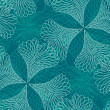 Seamless filigree pattern — Image vectorielle