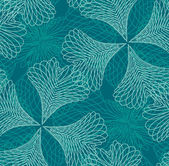 Seamless filigree pattern — ストックベクタ