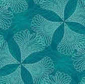 シームレスなフィリグリーのパターン — ストックベクタ