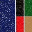 Stock vektor: Seamless starry pattern