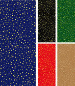 Naadloze sterrenhemel patroon — Stockvector