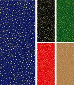 星空のシームレスなパターン — ストックベクタ