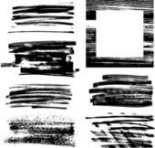 Frame grunge set iii — Vecteur