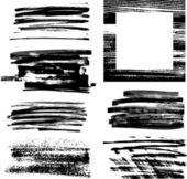 Grunge frame ingesteld iii — Stockvector
