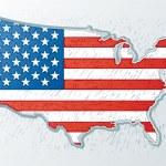 Estados Unidos graba estilo — Vector de stock