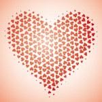 Heart dance I — Stock Vector