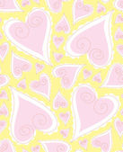 Love seamless Pattern — ストックベクタ
