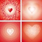 Heart dance VII — Stock Vector