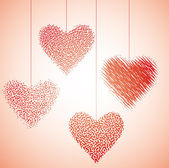 Heart dance III — Stock Vector