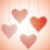 Heart dance V — Stock Vector