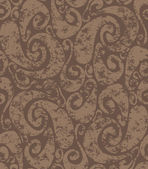 Seamless rusty swirls pattern — ストックベクタ