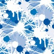 Seamless stains pattern I — Stock vektor