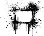 Grunge rama ivgrunge 帧四 — Stockvektor