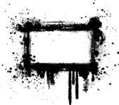 Grunge frame ik — Stockvector