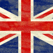 Stock Photo: Grunge UK flag