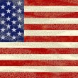 Royalty-Free Stock Photo: Grunge USA Flag