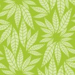 Stockvektor : Seamless leaves pattern