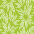 Wektor stockowy : Seamless leaves pattern