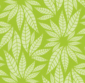 Seamless leaves pattern — Stok Vektör