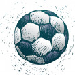 Soccer ball — Stockvectorbeeld