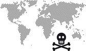 Dead world — Stock Vector