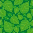 Stock vektor: Foliage seamless pattern