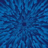 Flèches concentriques — Vecteur