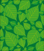 Foliage seamless pattern — Vector de stock