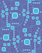 Seamless motherboard style pattern — Vector de stock