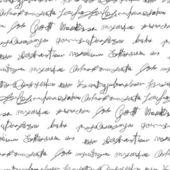 Naadloze nep schrijven textuur — Stockvector