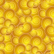 Stock vektor: Chinese like swirl seamless pattern