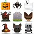 Halloween utilities — Stockvectorbeeld