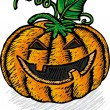 Halloween pumpkin — Stock Vector #5144854