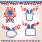 Americana - Set 2 — Vector de stock