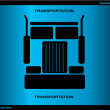 Truck design — Stock Vector