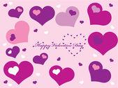 Heart for Valetine day — Stock Vector