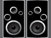 Speaker. Vector element for design. — Stock Vector