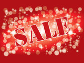 Sale wallpaper attractive to customer — 图库矢量图片