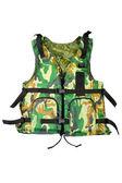 Khaki life vest — Stock Photo
