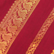 Silk Saree — Stock Photo