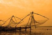 Chinese Fishing Nets — Stock Photo