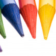 Stock Photo: Collection of colorful pencils