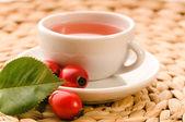 Rose hip tea — Stock Photo