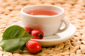 Rose hip tea — Stock Photo